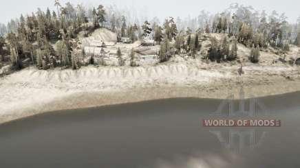 Лелейское водохранилище для MudRunner