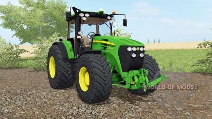 John Deere 7930 vivid malachite для Farming Simulator 2017