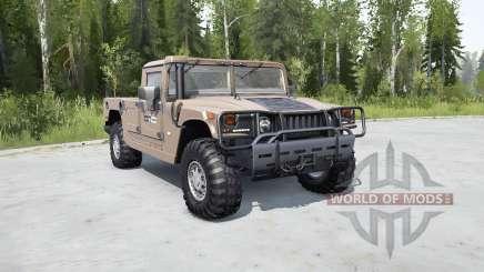 Hummer H1 pickup для MudRunner