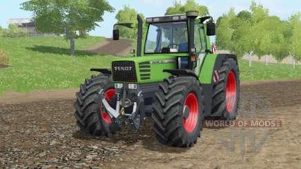 Fendt Favorit 515C Turbomatiƙ для Farming Simulator 2017