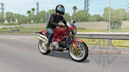 Motorcycle Traffic Pack v3.7 для American Truck Simulator