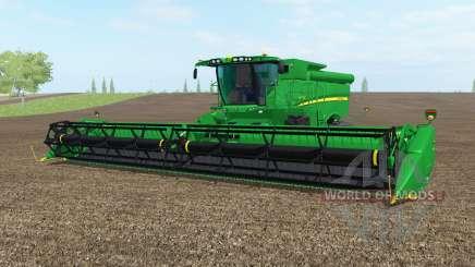 John Deere S690i north texas greeᶇ для Farming Simulator 2017