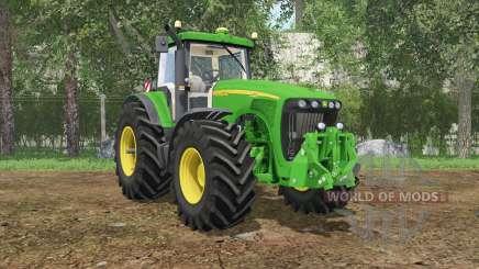John Deere 8520 pantone green для Farming Simulator 2015