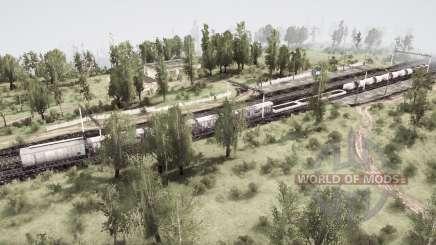 Expanses of Villages 3 для MudRunner