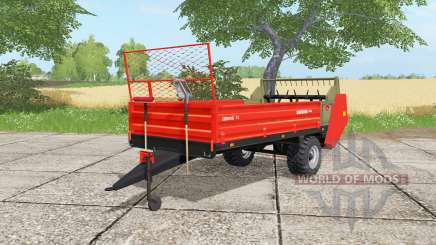 Ursus N-228 light brilliant red для Farming Simulator 2017