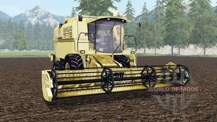 New Holland TF78 arylide yellow для Farming Simulator 2015