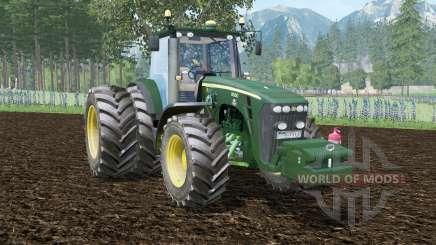 John Deere 8530 green pea для Farming Simulator 2015