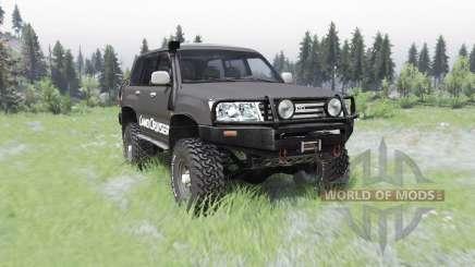 Toyota Land Cruiser 100 GX для Spin Tires