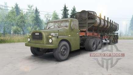 Tatra T148 6x6 v1.1 для Spin Tires