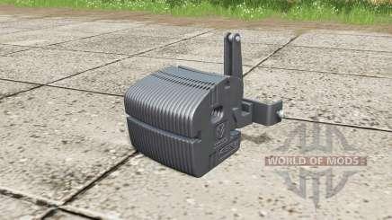 New Holland weight для Farming Simulator 2017