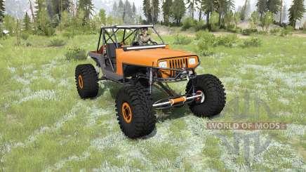 Jeep Wrangler 40OZ Juggy для MudRunner