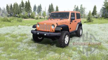 Jeep Wrangler Rubicon (JK) 2007 для MudRunner
