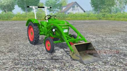 Deutz D 30 front loader для Farming Simulator 2013