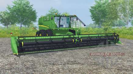 John Deere S680 dual front wheels для Farming Simulator 2013