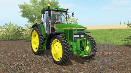 John Deere 7810 islamic greeɲ для Farming Simulator 2017