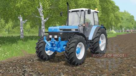 Ford 8340 PowerStar SLE для Farming Simulator 2017