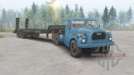 Tatra T148 6x6 v1.1 синий окрас для Spin Tires