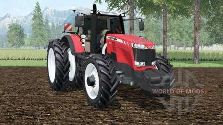 Massey Ferguson 8737 row crops для Farming Simulator 2015