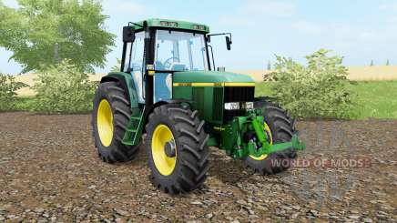 John Deere 6810 animated steering для Farming Simulator 2017
