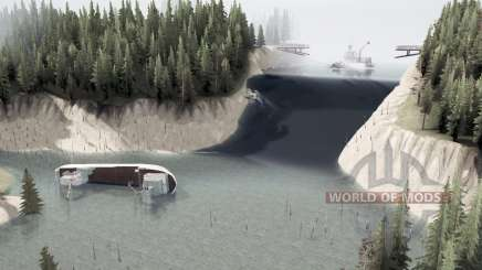 Затопленный регион для MudRunner