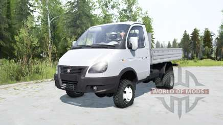 ГАЗ-33027 ГАЗель 2003 для MudRunner