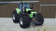 Deutz-Fahr 7250 TTV Agrotron wheel options для Farming Simulator 2013