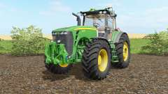 John Deere 8530 wheel shader для Farming Simulator 2017