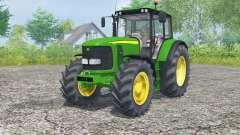 John Deere 6620 islamic green для Farming Simulator 2013
