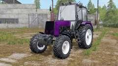 МТЗ-1025 Беларус выбор цвета окраса для Farming Simulator 2017