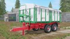 Kroger Agroliner TKD 302 athens gray для Farming Simulator 2017