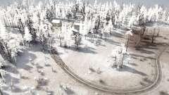 Snow Hills 2 для MudRunner