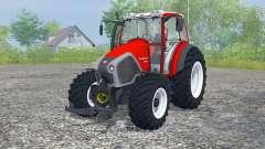 Lindner Geotrac 94 candy apple red для Farming Simulator 2013