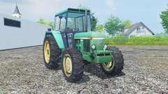 John Deere 3030 MoreRealistic для Farming Simulator 2013