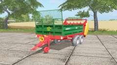 Warfama N218-2 spanish green для Farming Simulator 2017