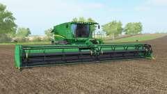 John Deere S690i pantone greeꞑ для Farming Simulator 2017
