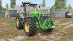 John Deere 8530 dark pastel green для Farming Simulator 2017