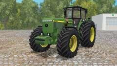 John Deere 4755 EU version для Farming Simulator 2015