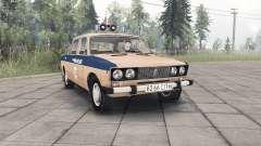 ВАЗ-2106 Жигули Милиция СССР для Spin Tires