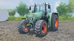 Fendt 716 Vario TMS pearl aqua для Farming Simulator 2013