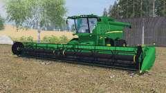 John Deere S670&S680 dartmouth green для Farming Simulator 2013