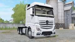 Mercedes-Benz Actros BigSpace (MP4) для Farming Simulator 2017