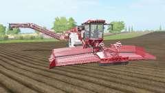 Holmer Terra Felis 2 english vermillion для Farming Simulator 2017