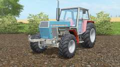 Zetor Crystal 12045 blue green для Farming Simulator 2017