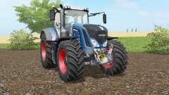 Fendt 930-939 Vario honolulu blue для Farming Simulator 2017