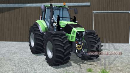 Deutz-Fahr 7250 TTV Agrotron wheel options для Farming Simulator 2013