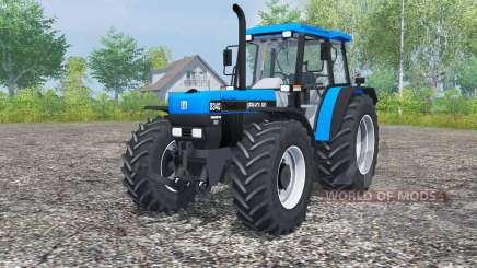 New Holland 8340 deep sky blue для Farming Simulator 2013