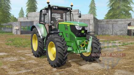 John Deere 6115M north texas green для Farming Simulator 2017