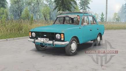 Москвич-412ИЭ-028 для Spin Tires