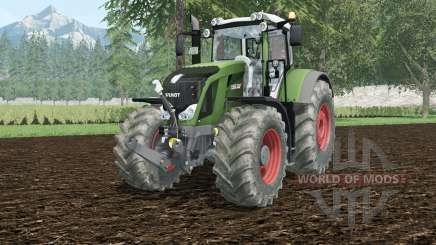 Fendt 828 Vario hippie green для Farming Simulator 2015