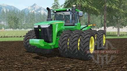 John Deere 9620R tripleᶊ для Farming Simulator 2015